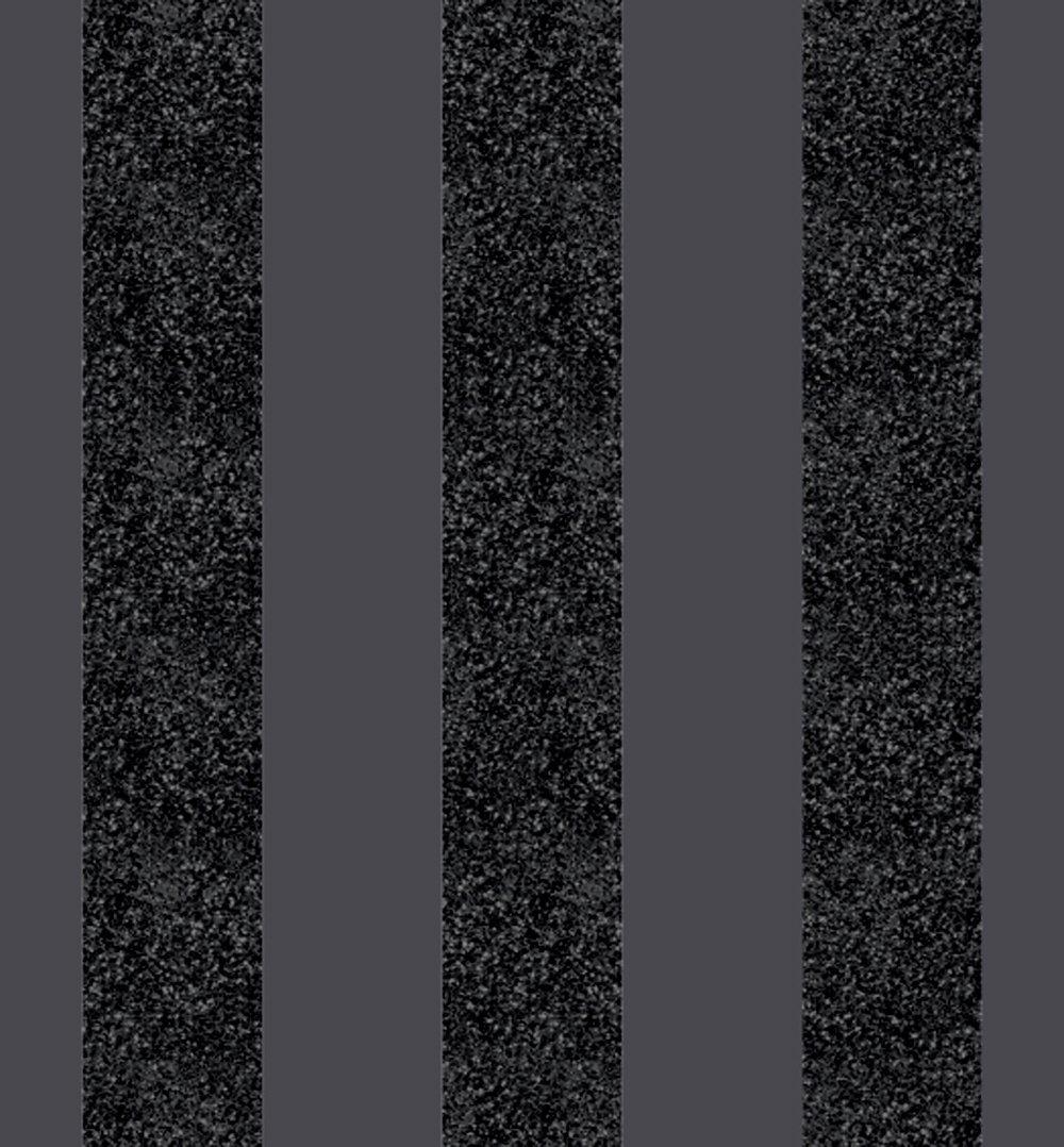 arthouse-glitterati-stripe-wallpaper-black