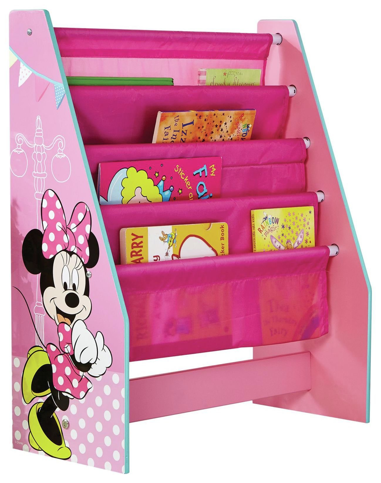 Disney Minnie Mouse Sling Bookcase at Argos review