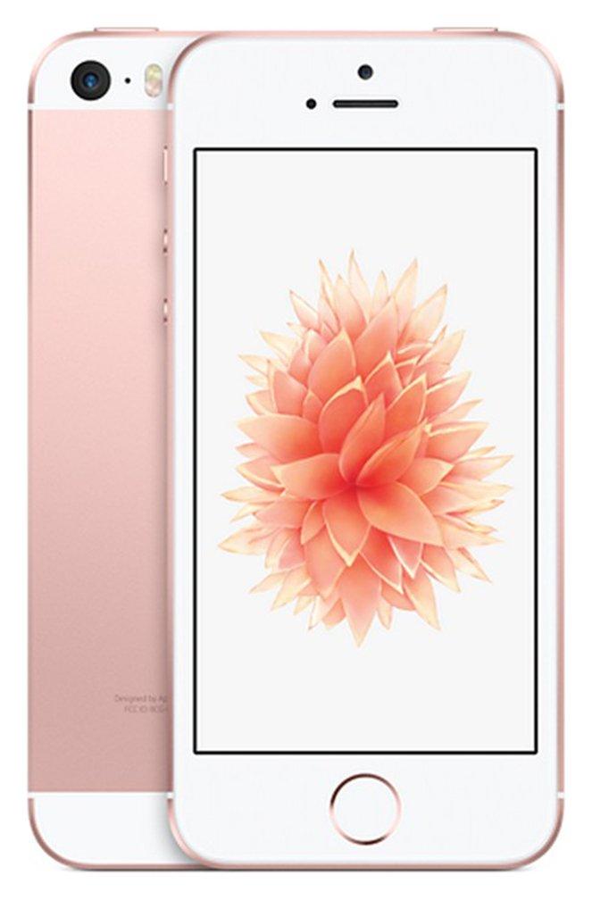 Sim Free Apple iPhone SE 128GB Mobile Phone - Rose Gold