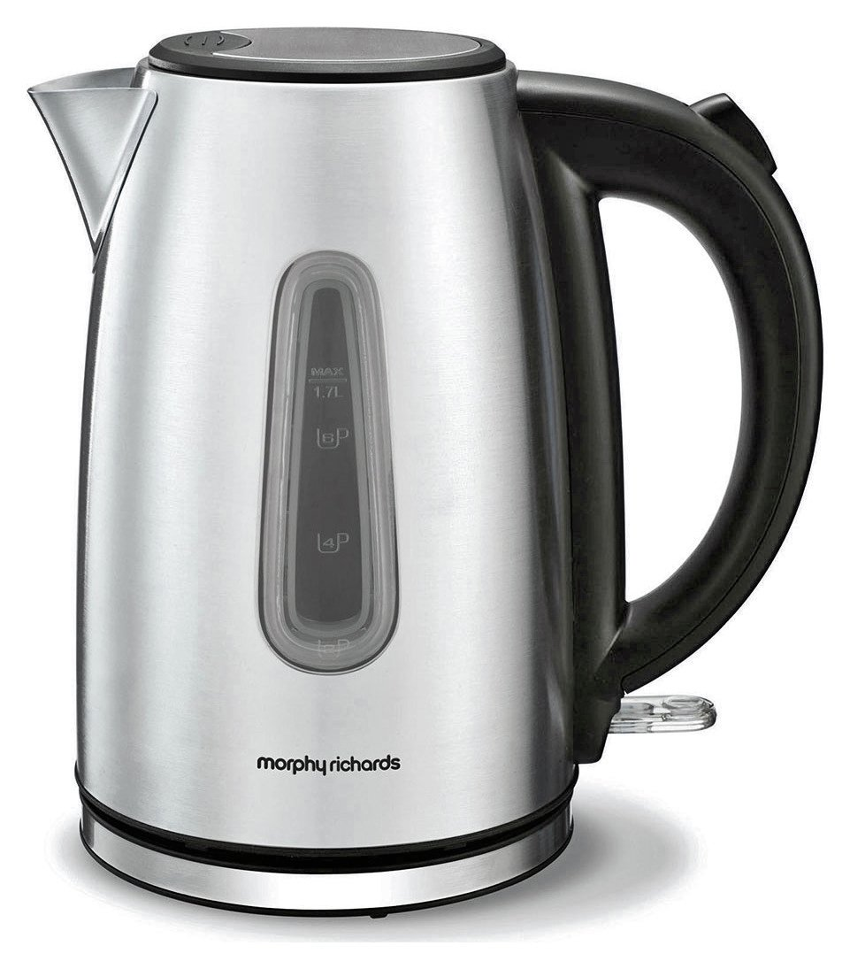 Morphy Richards Equip 102773 Jug Kettle - Stainless Steel