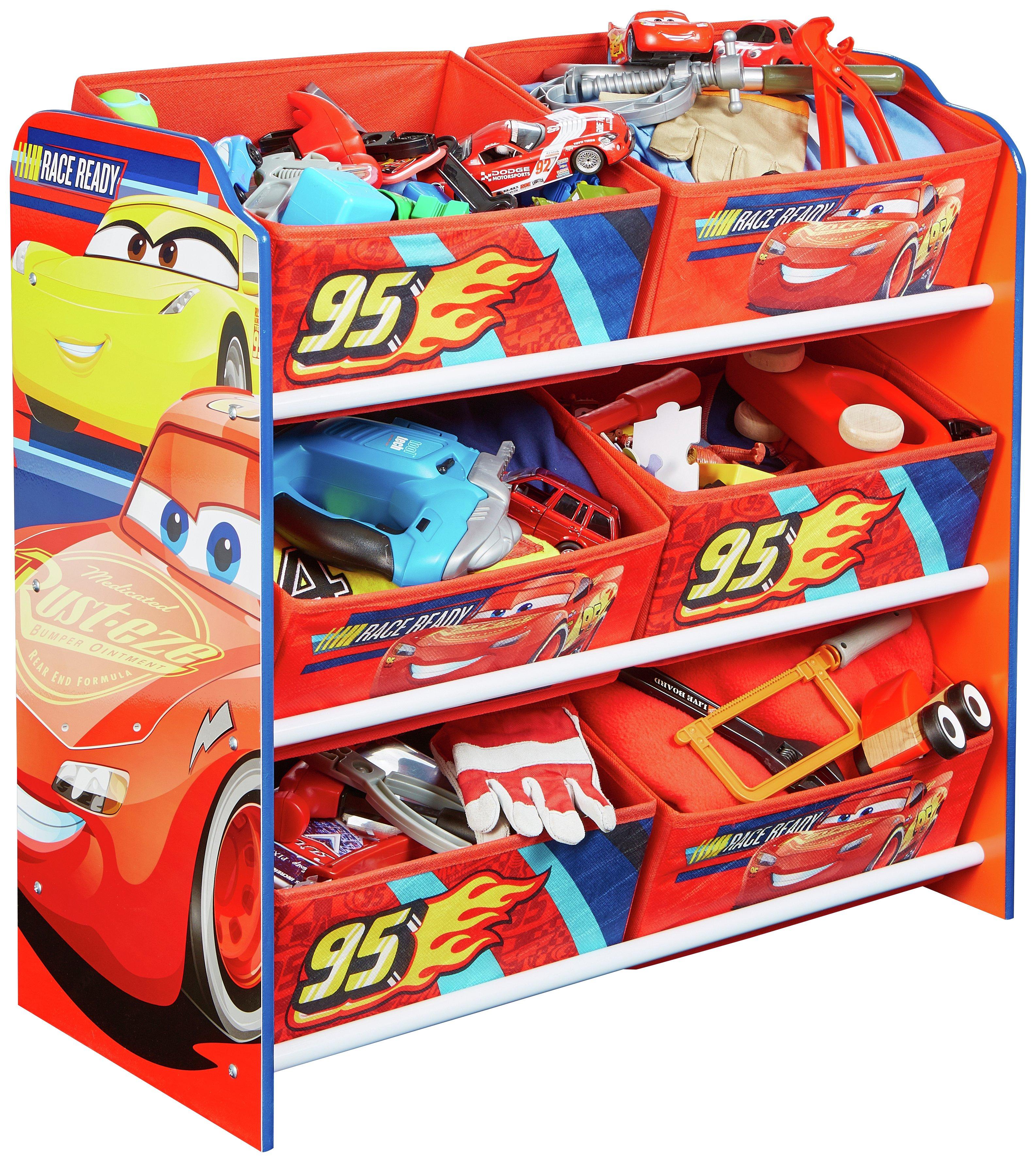 Disney Cars Kids Storage Unit