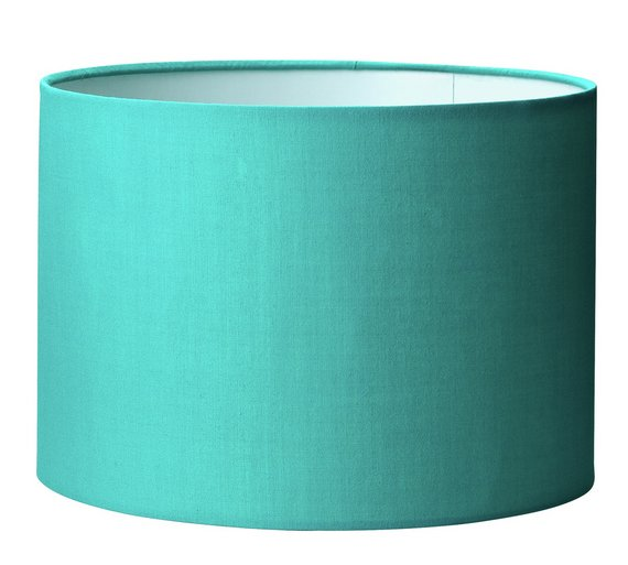 Buy colourmatch drum light shade teal at argos your colourmatch drum light shade teal aloadofball Image collections