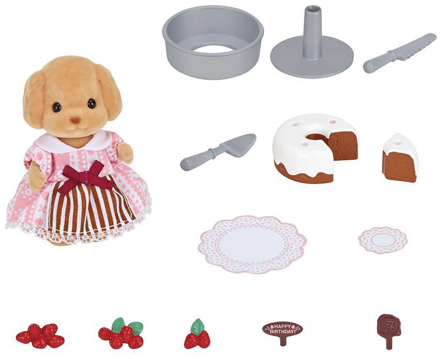 Sylvanian Families Cake Decorating Set.