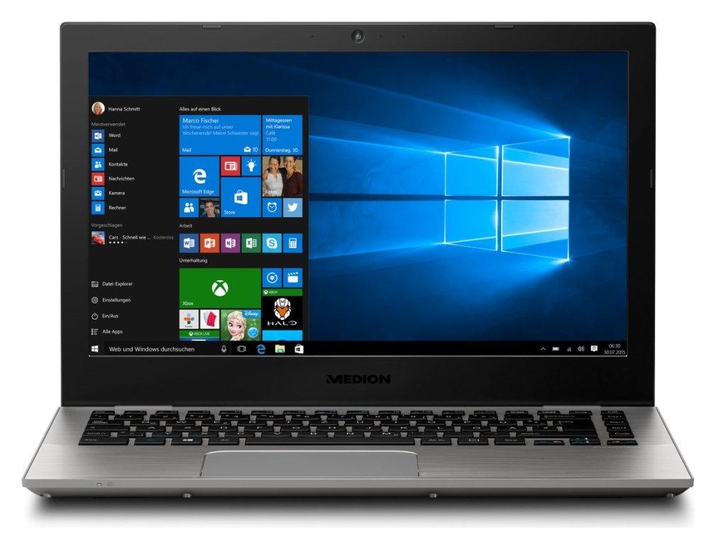Medion S3409 13.3 Inch i3 4GB 256GB Laptop - Silver.