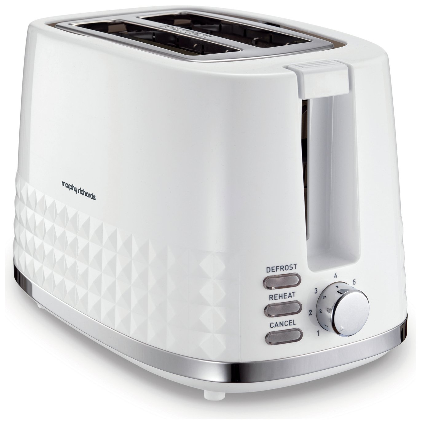 Morphy Richards 220023 Dimensions 2 Slice Toaster - White