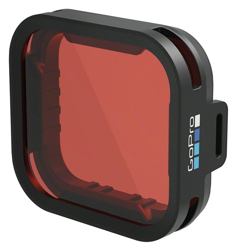 Image of GoPro Blue Water Snorkel Filter for HERO5 Camera.
