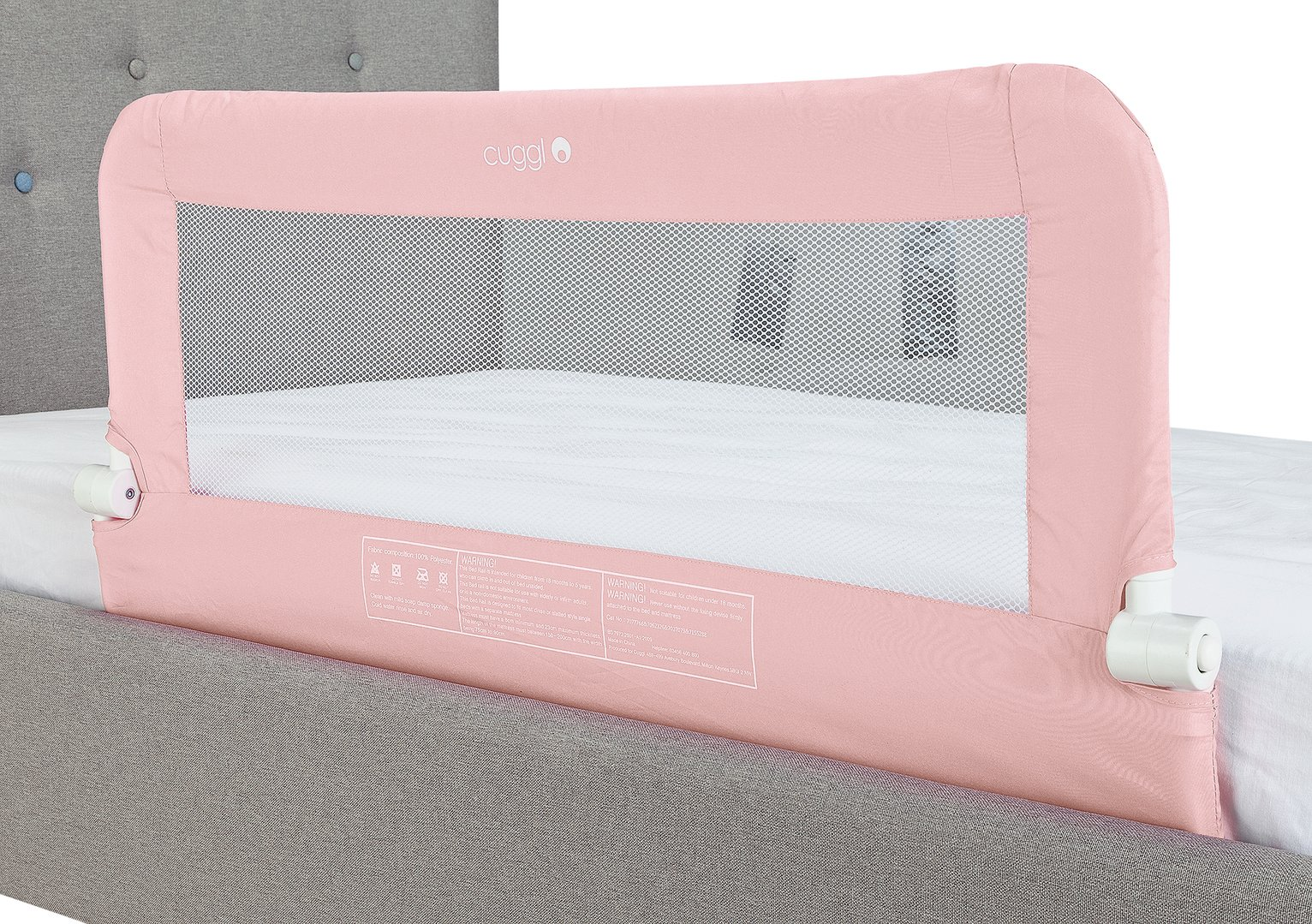 Image of Cuggl Pink Bed Rail