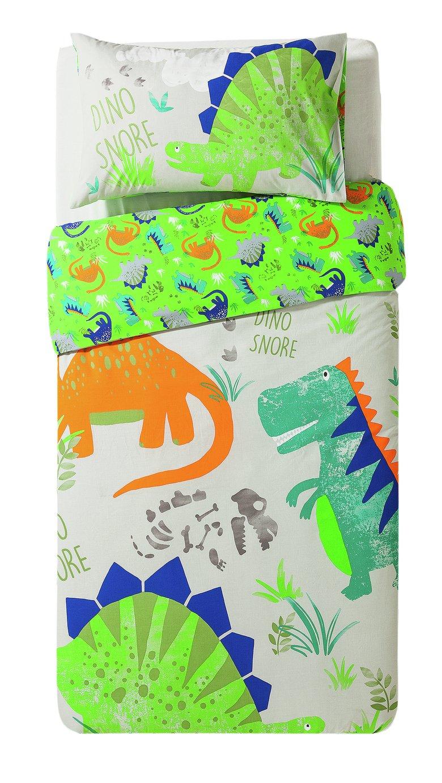 Argos Home Dino Snore Bedding Set Toddler 7027440 Argos Price Tracker Pricehistory Co Uk