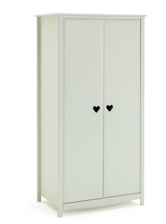 buy argos home new mia wardrobe - white | kids wardrobes | argos