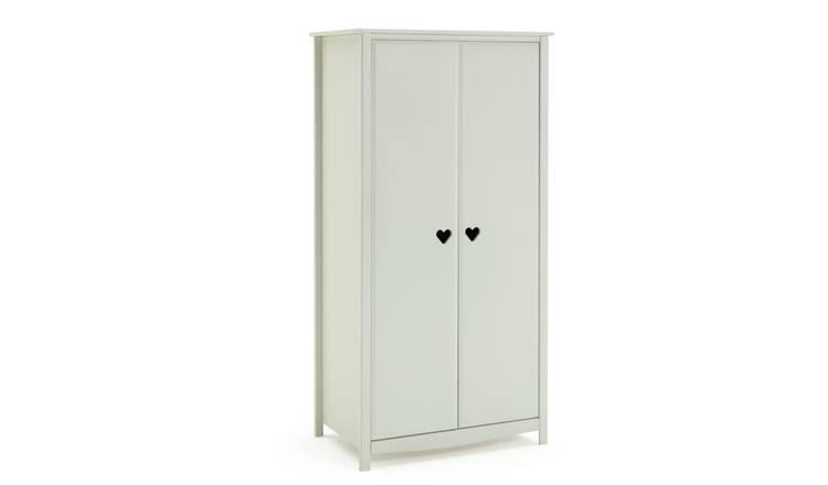 online retailer c6510 9be09 Buy Argos Home Mia White Wardrobe | Kids wardrobes | Argos