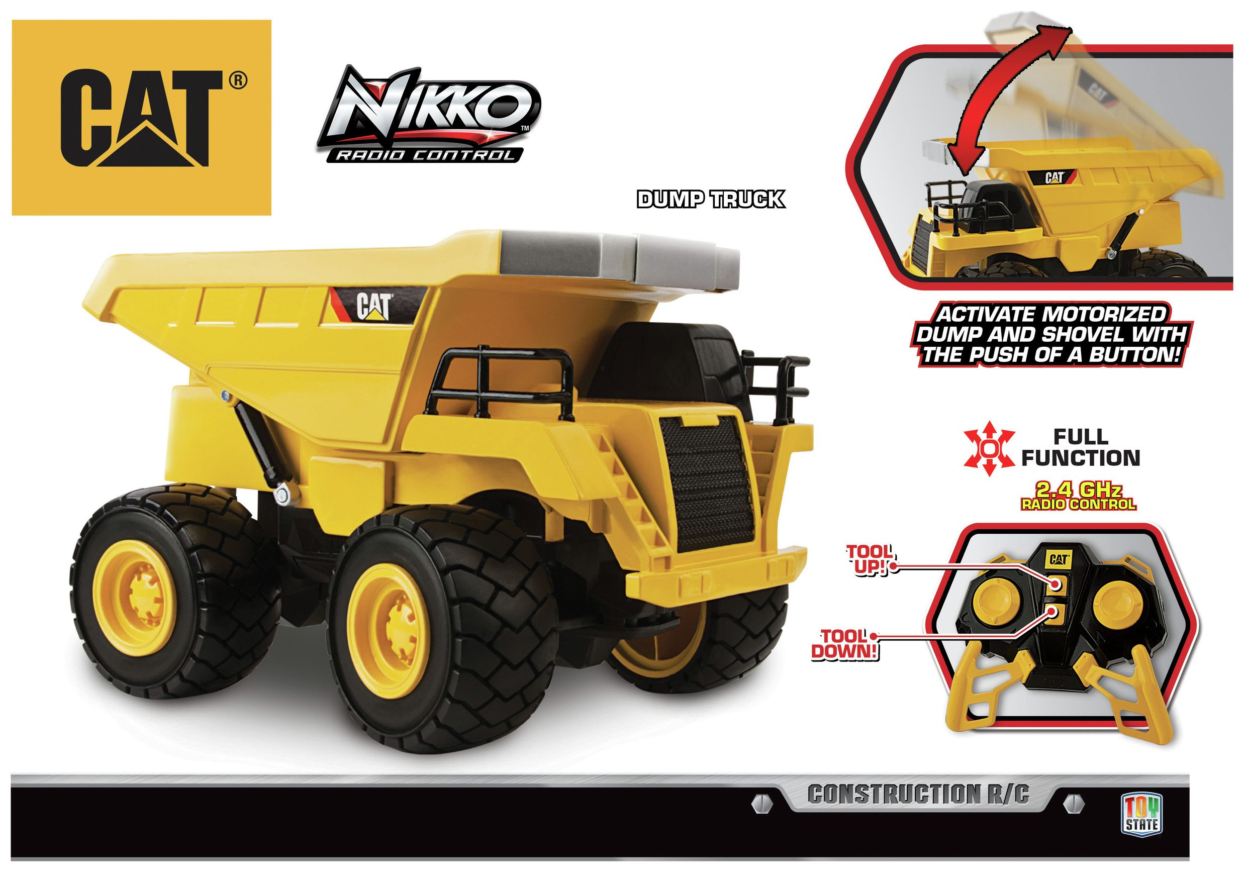 Image of CAT RC Dump Truck.