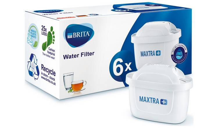 Brita Maxtra Plus Water Filter Cartridge - Pack of 6