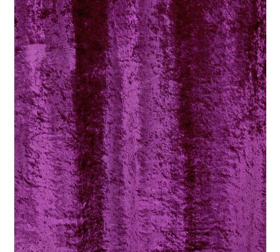 8552b549ca Buy Argos Home Cara Velvet Lined Curtains - 117x137 - Mulberry ...