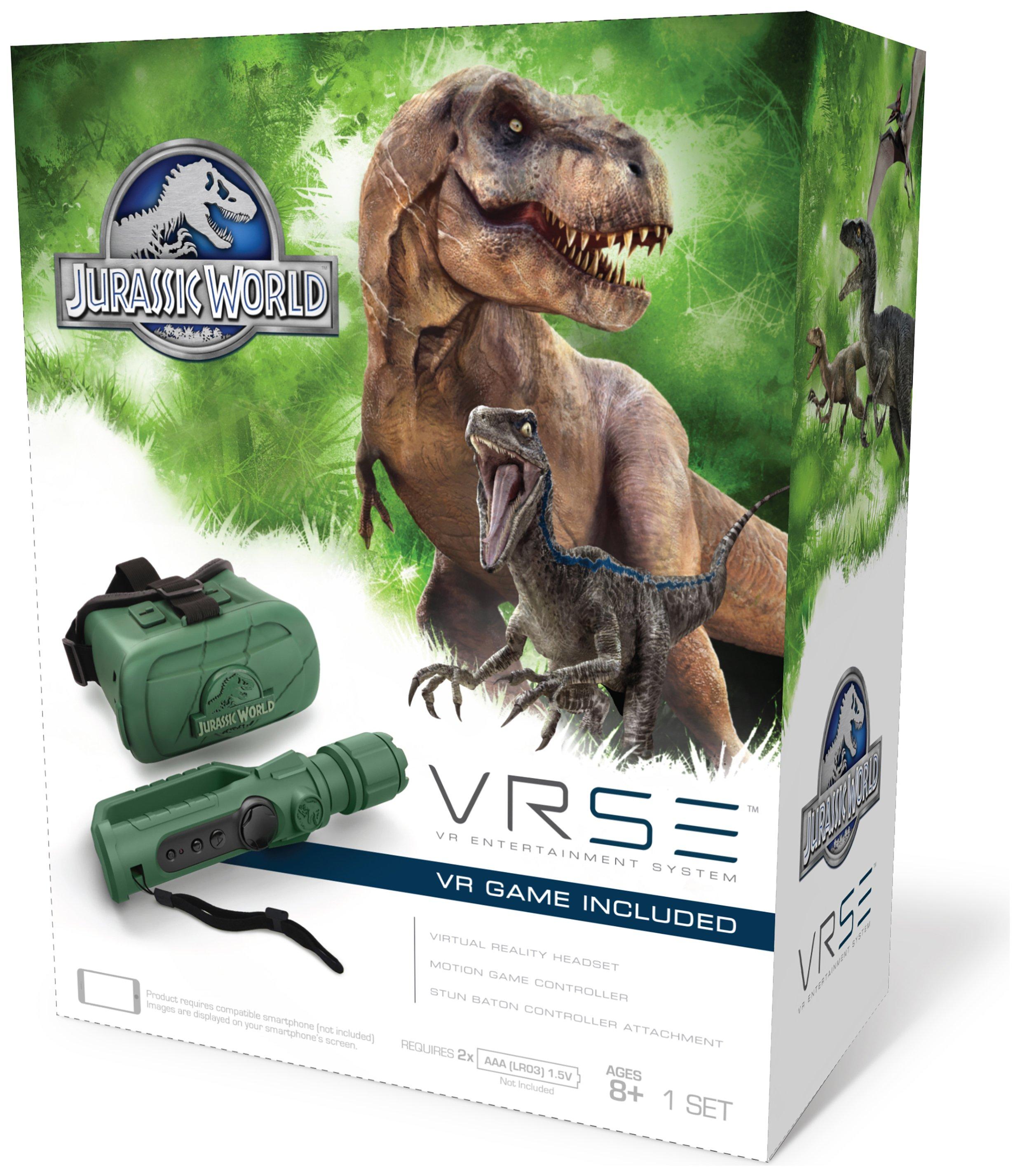 VRSE Jurassic World VR Headset and Game