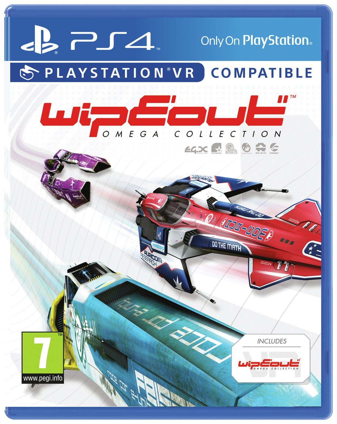 Click here for Wipeout Omega Collection PS4 Game prices