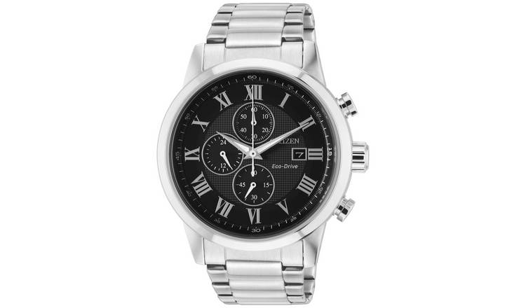 Citizen Men's Chronograph Silver Stainless Steel Watch