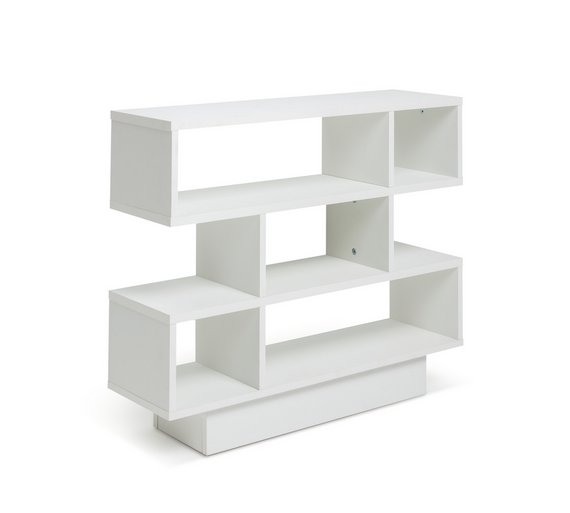 Buy Argos Home Cubes Shelving Unit White Bookcases And