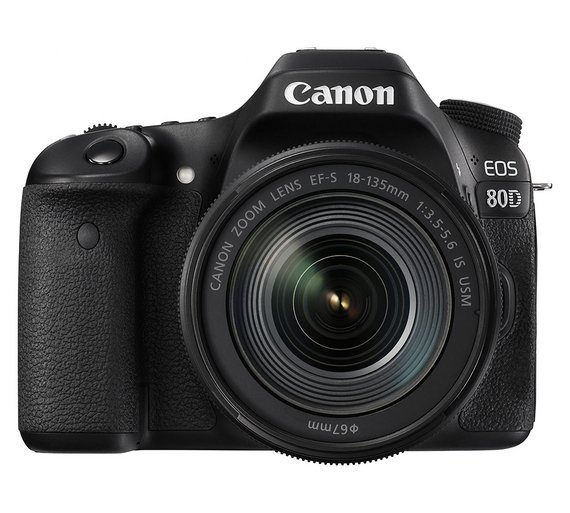 Image of Canon EOS 80D 18-135mm DSLR Camera