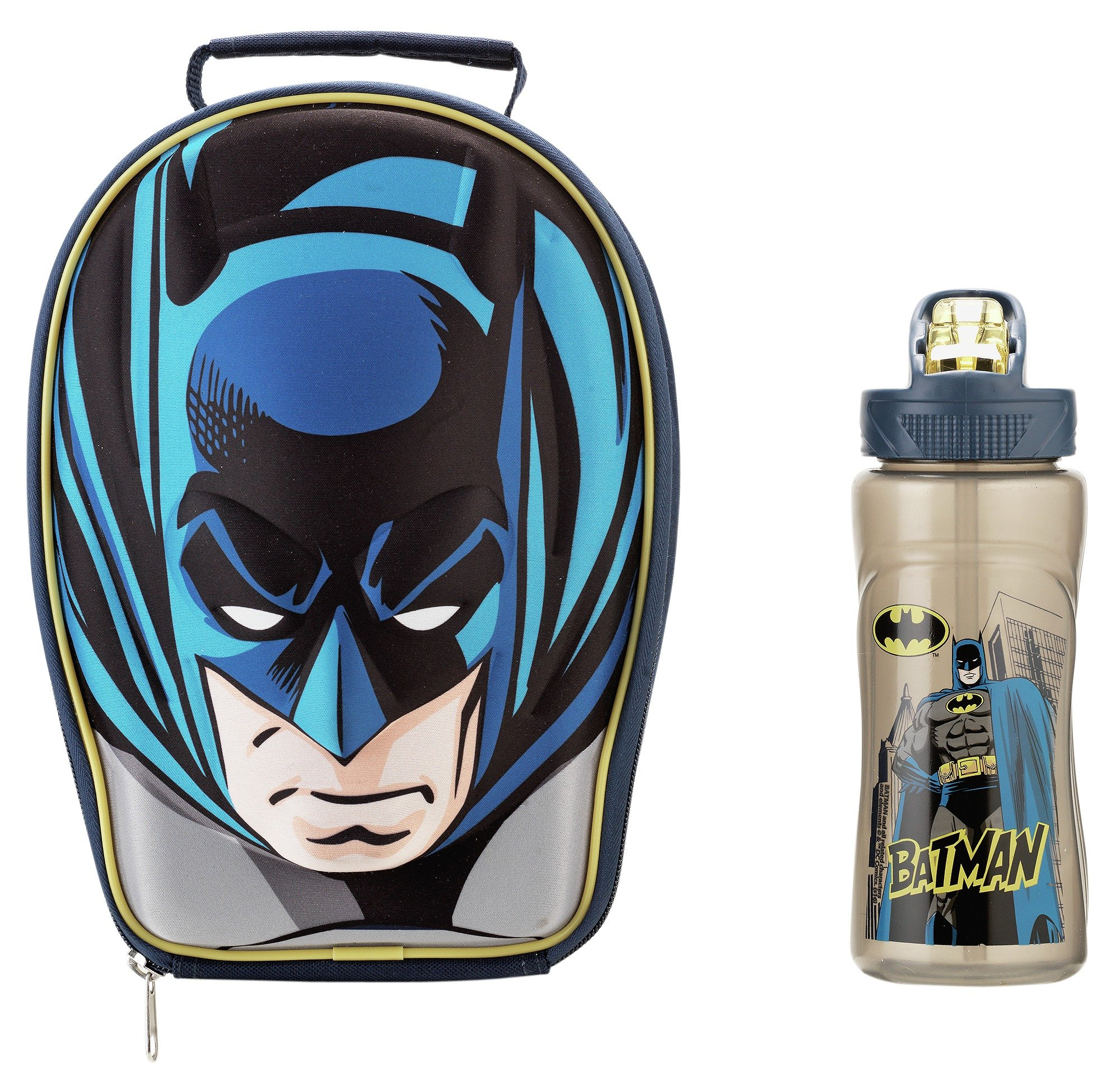 Image of Batman Lunch Bag and Bottle