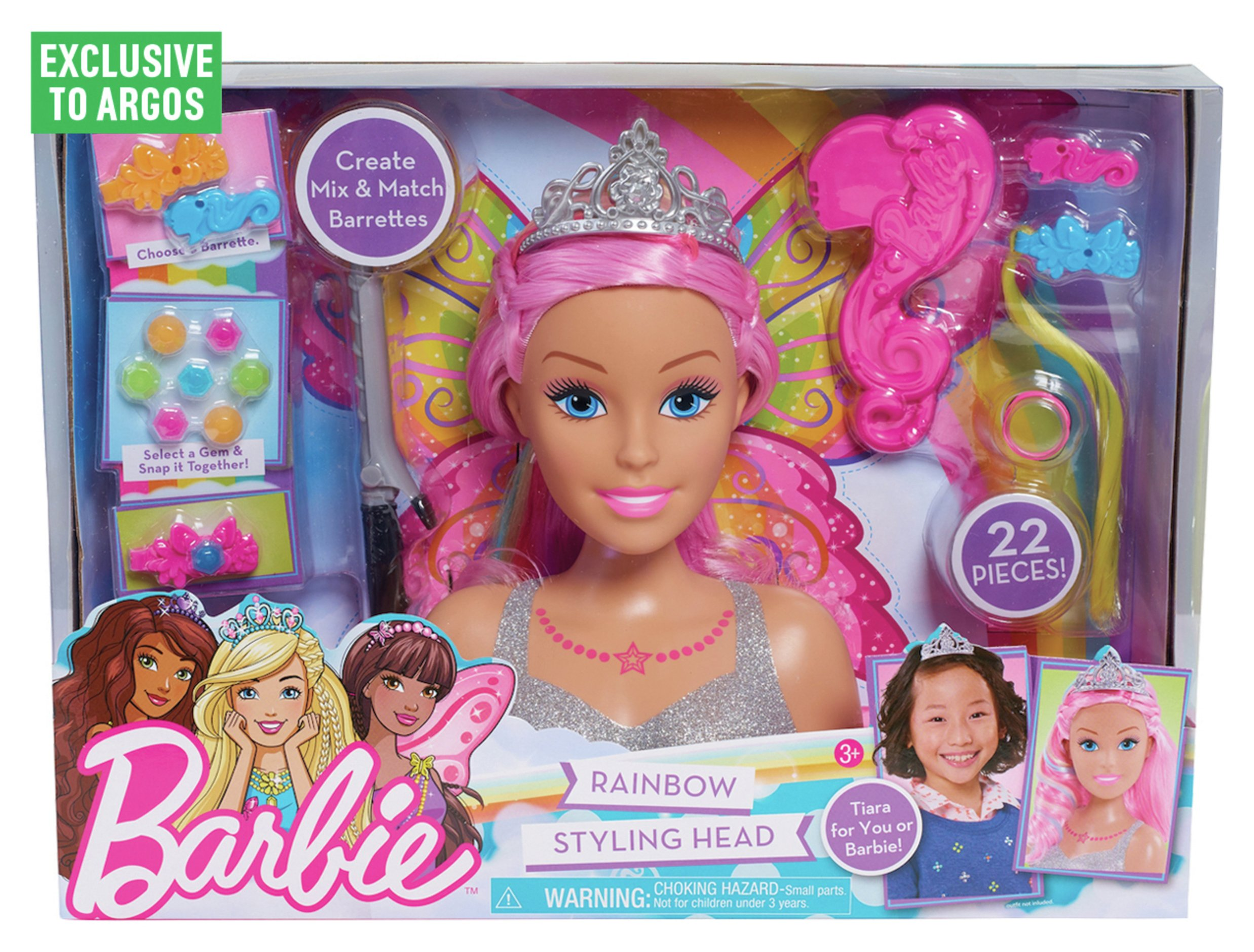 barbie dreamtopia styling head  large