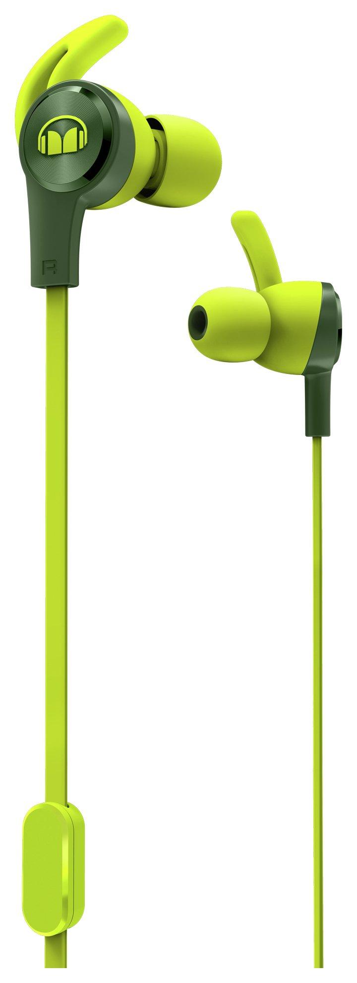 Monster iSport Achieve In-Ear Headphones - Green.
