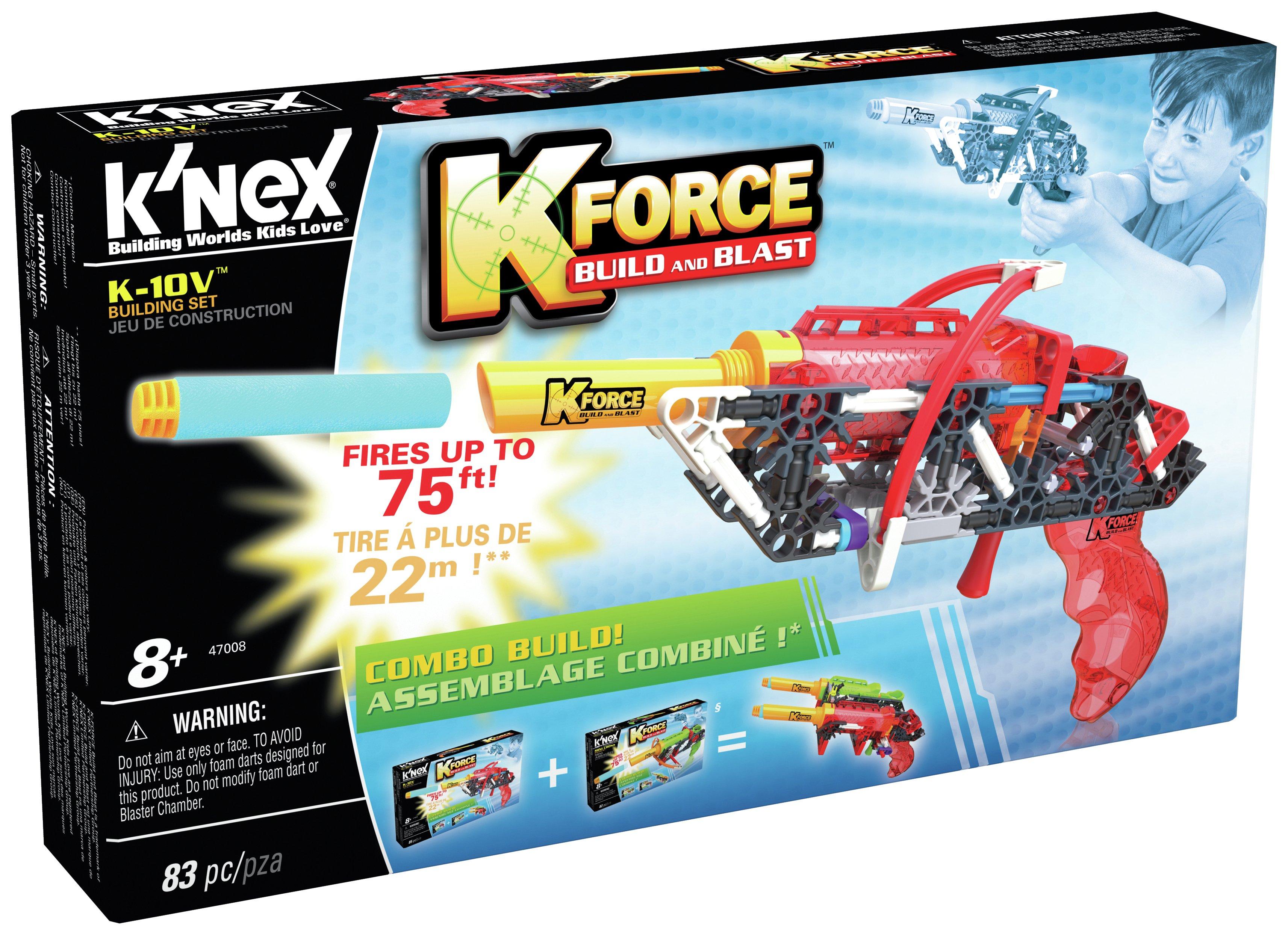 K'NEX K Force K-10V Blaster.