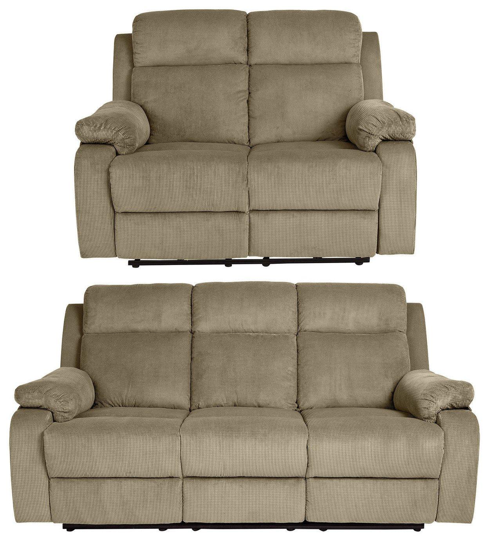 collection new bradley 2 seat u00263 seat recliner sofa