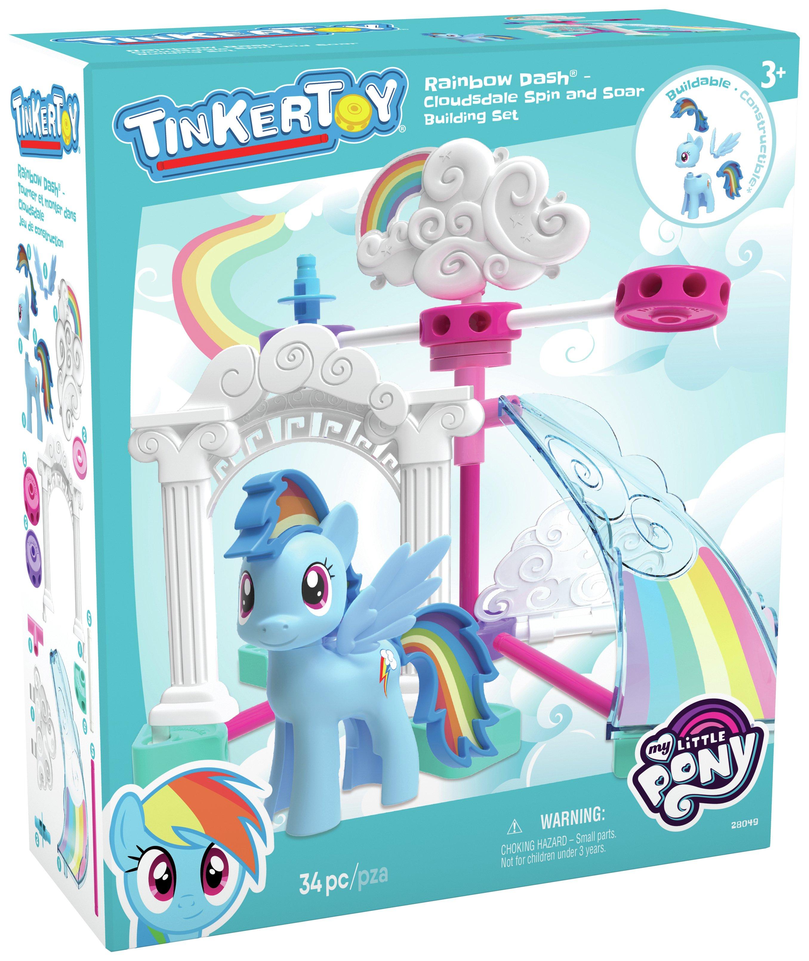 K'NEX My Little Pony Rainbow Dash Cloudsdale Building Set.