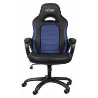 Nitro Concepts C80 Pure Gaming Chair - Black / White.