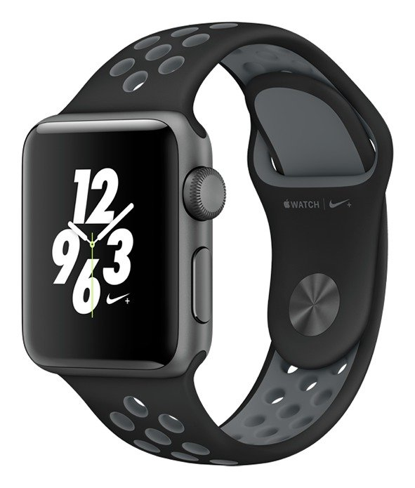 Apple Watch Nike 38mm Space Grey Alu CaseBlack Sport Band cheapest retail price