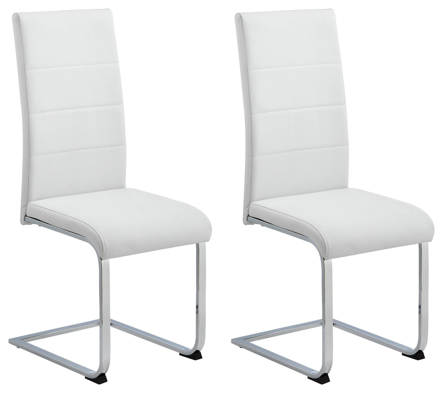 Sale On Argos Home Henrik Pair Of Cantilever Chairs