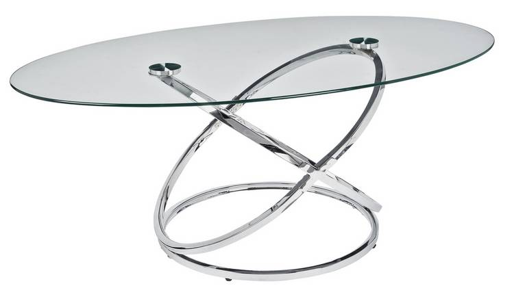 Glass Coffee Table Top View 9