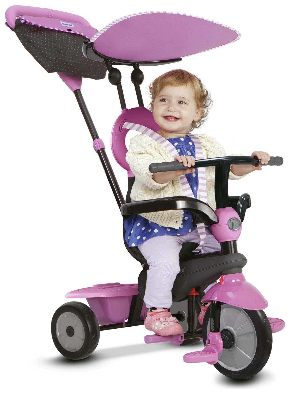 SmarTrike 4 In 1 Vanilla Tricycle   Pink