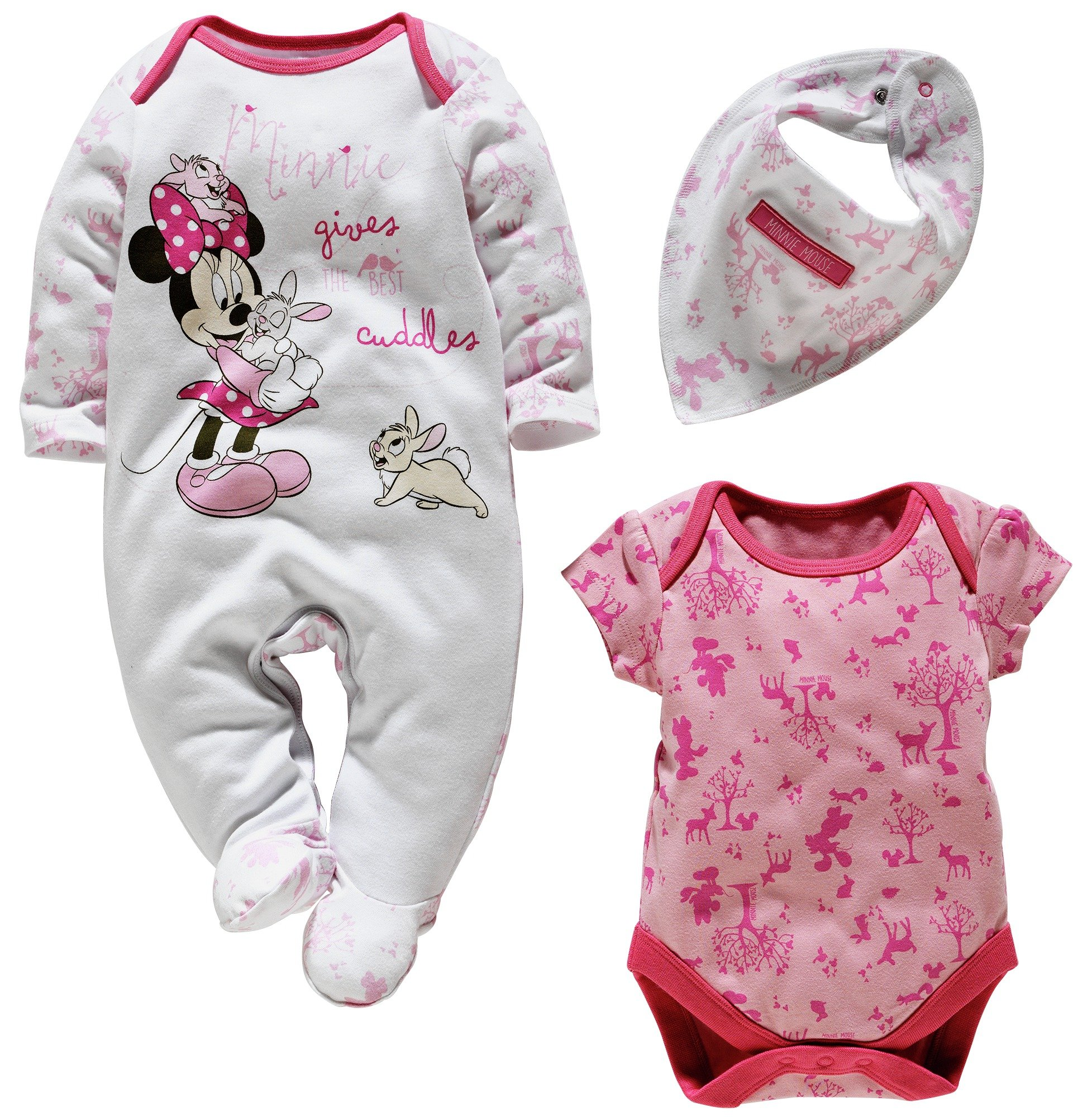 Image of Baby Minnie Mouse Gift Set - 0-3 Months