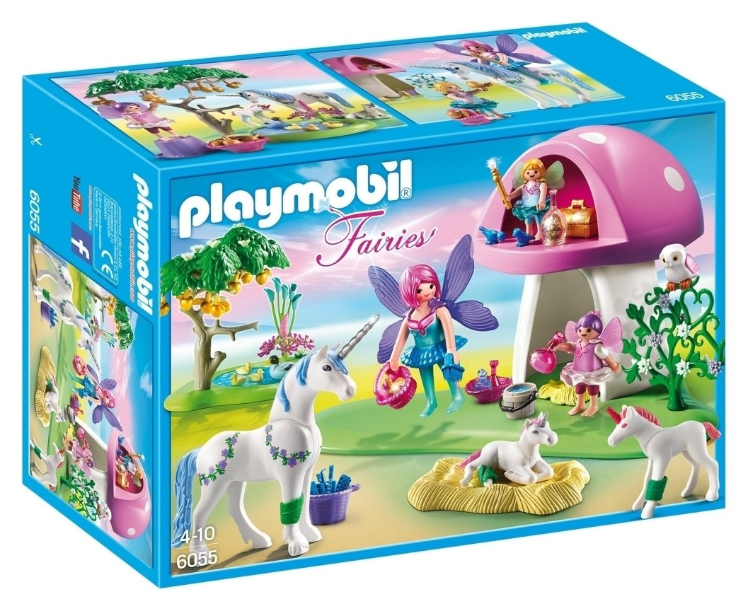 playmobil-6055-fairies-with-toadstool-house