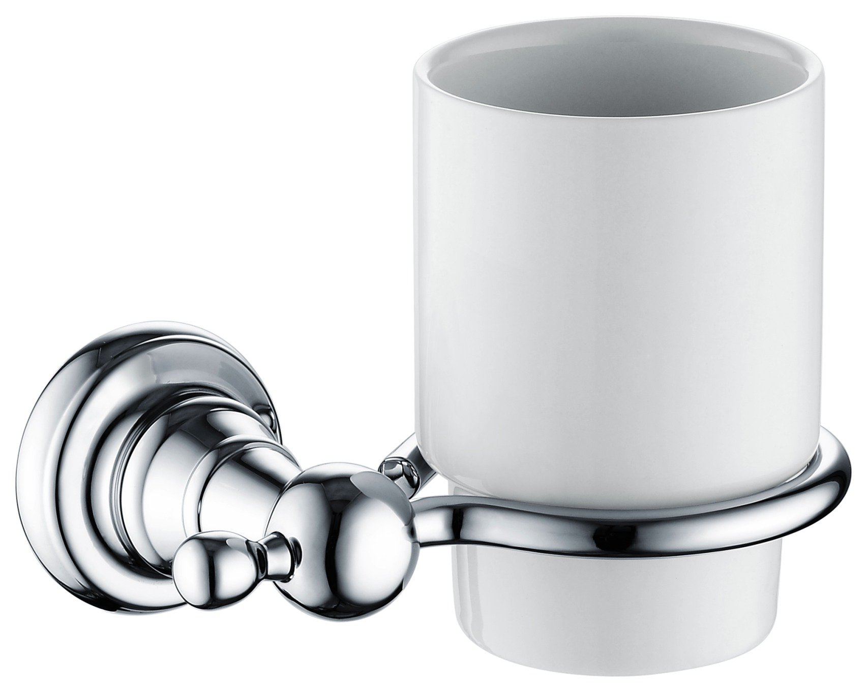 Image of Bristan 1901 Tumbler and Holder - Chrome.