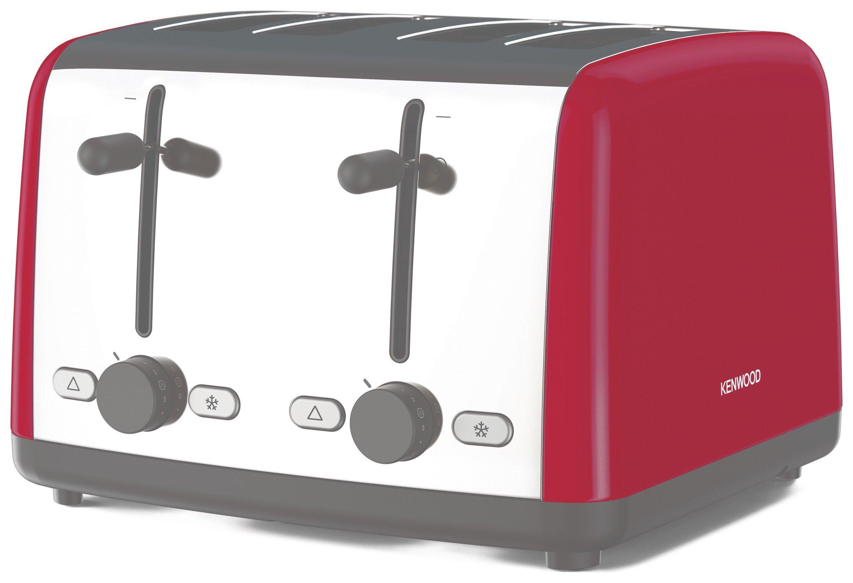 Kenwood TTM480RD Scene Toaster - Red
