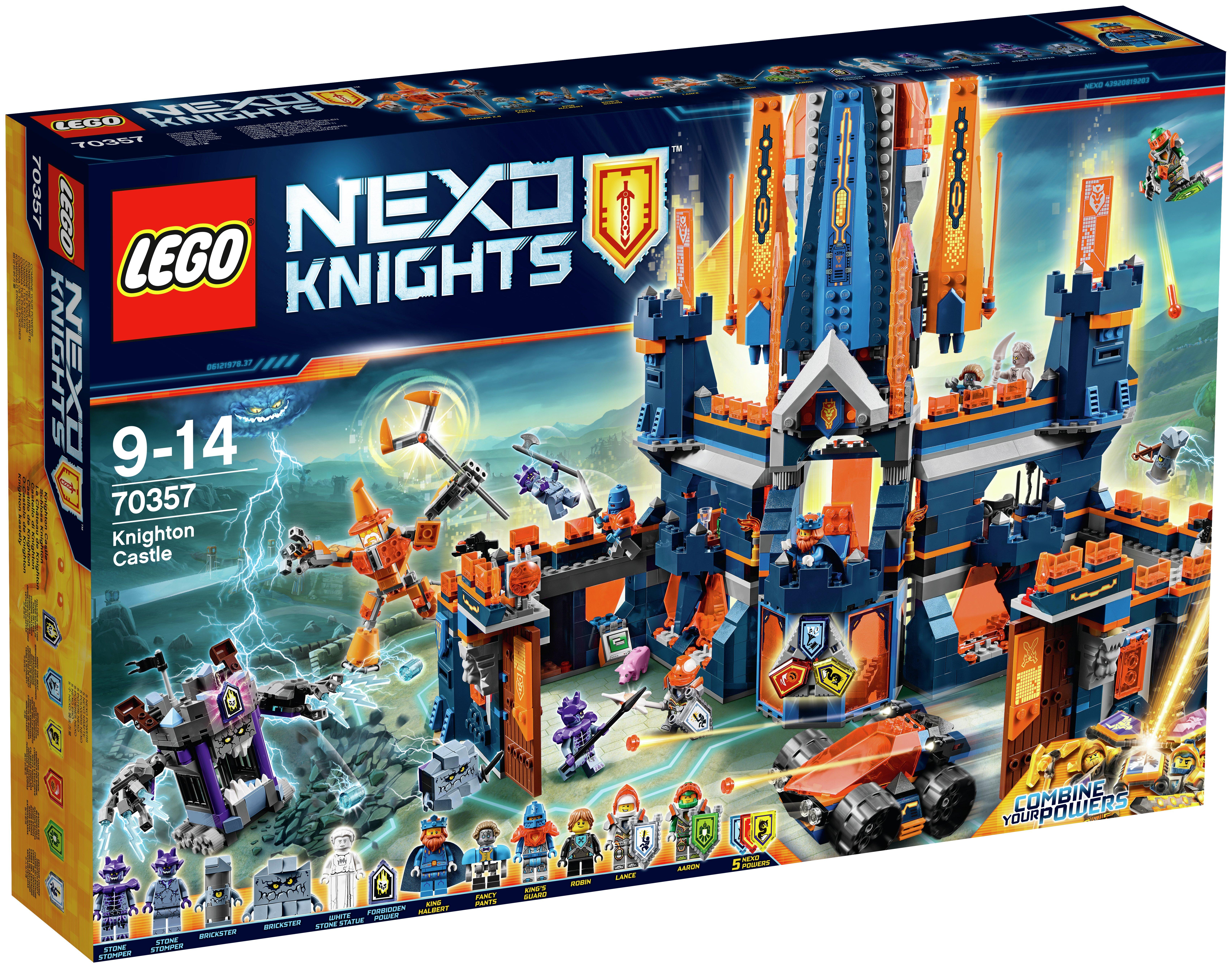 Image of LEGO Nexo Knighton Castle - 70357