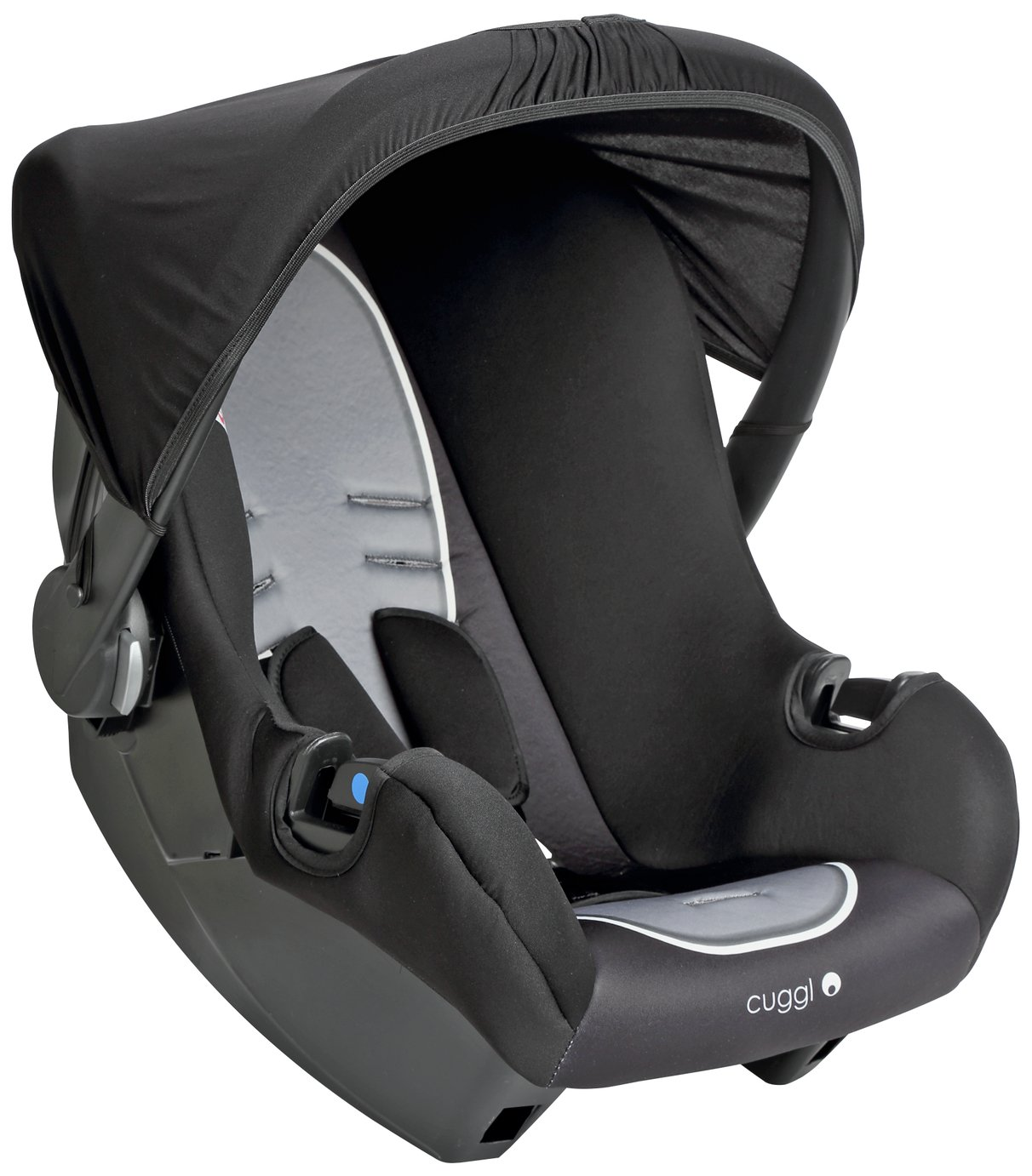 Cuggl Sparrow Group 0+ Baby Car Seat - Grey