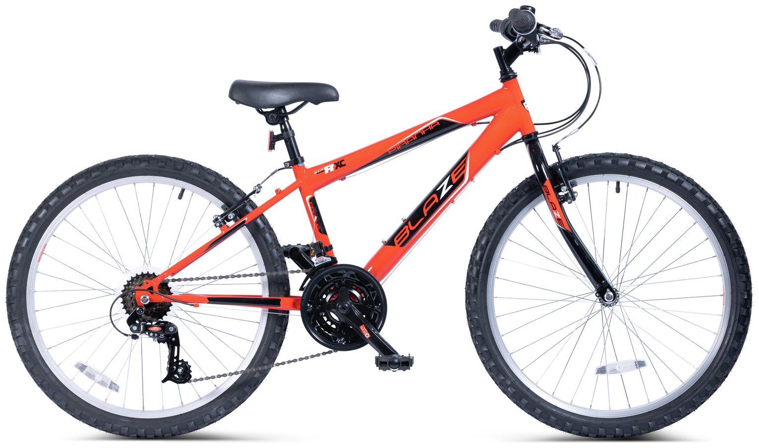 Piranha 24 Inch Blaze Rigid Junior Kids Bike