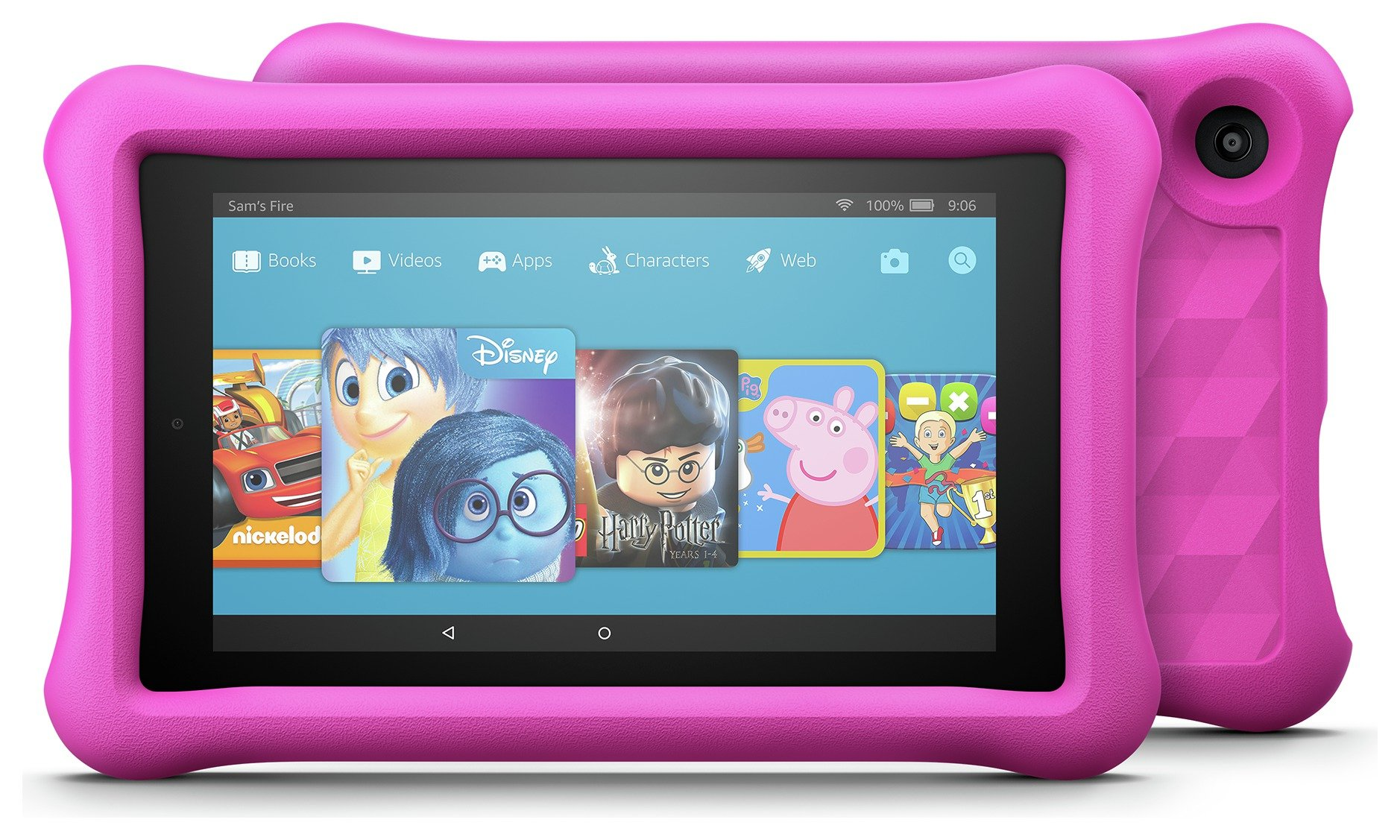 Compare retail prices of Amazon Fire 7 Kids Edition 7 Inch 16GB Tablet Pink to get the best deal online