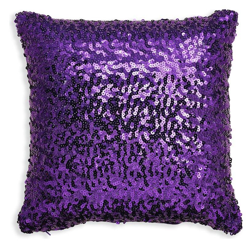sparkle purple cushion. Black Bedroom Furniture Sets. Home Design Ideas