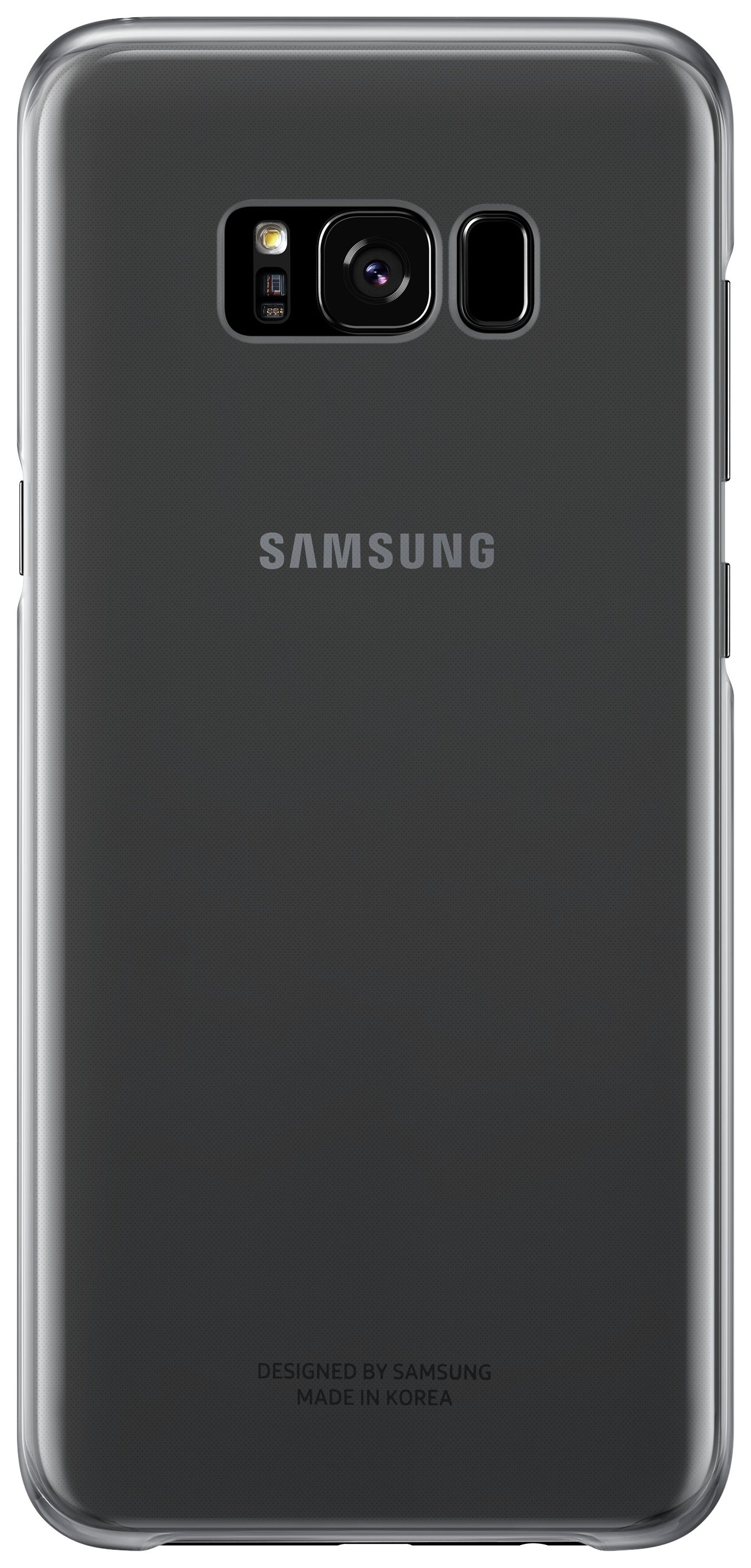 Samsung - Galaxy S8 Plus - Clear Cover - Black