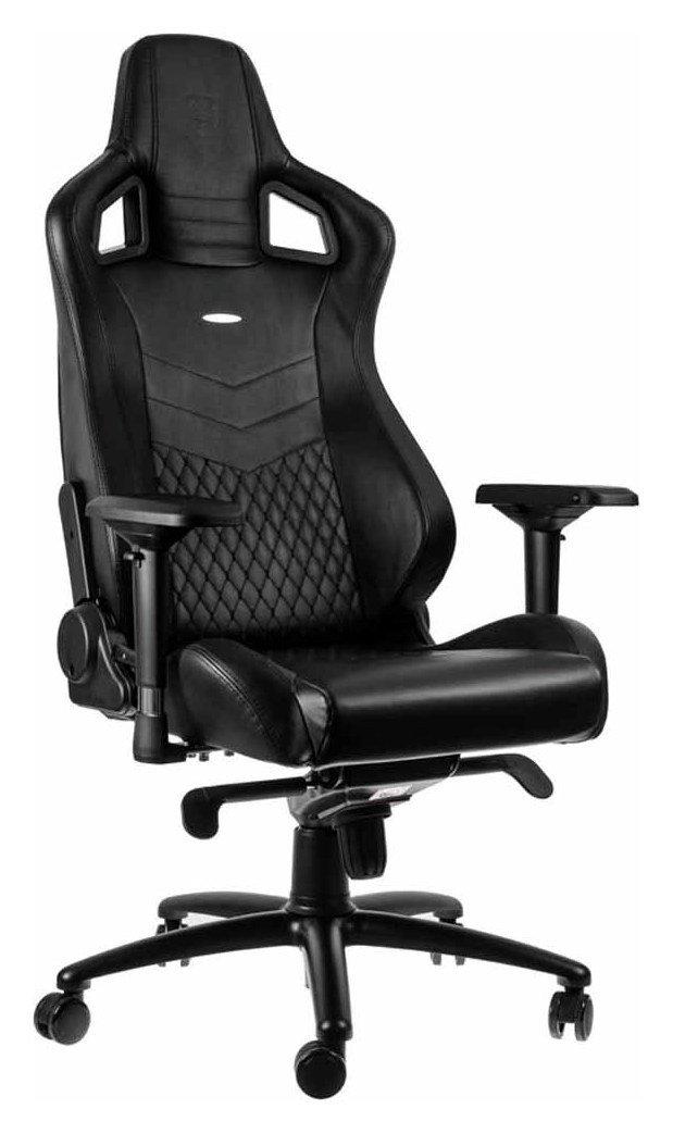 Enjoyable Noblechairs Epic Leather Gaming Chair Black 7034505 Inzonedesignstudio Interior Chair Design Inzonedesignstudiocom