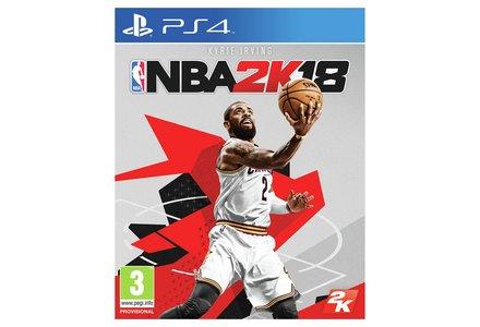 NBA 2K18 PS4 Pre-Order Game.