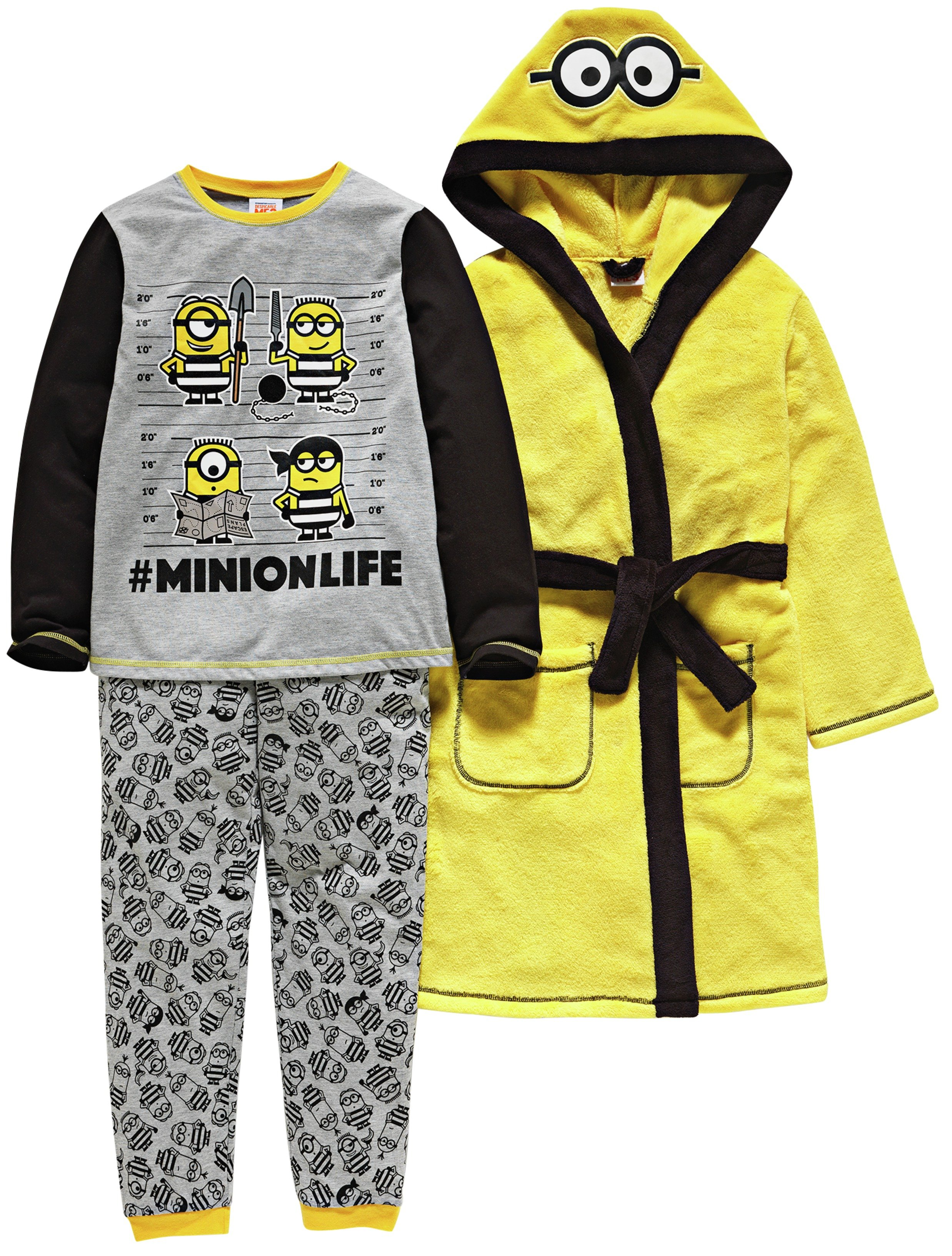Minions Yellow Nightwear Set - 5-6 Years