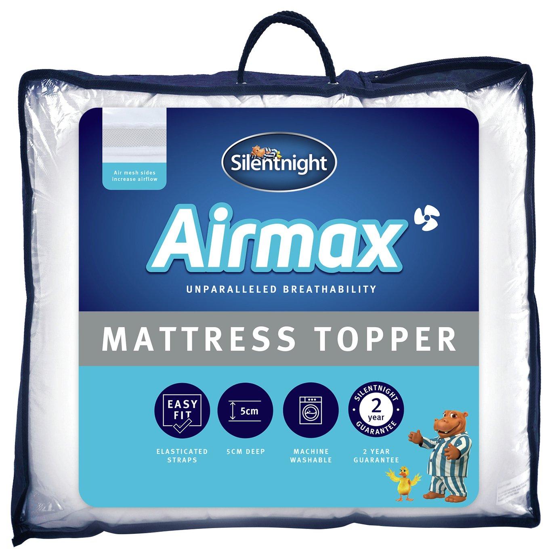 Silentnight Airmax 5cm Mattress Topper - Superking