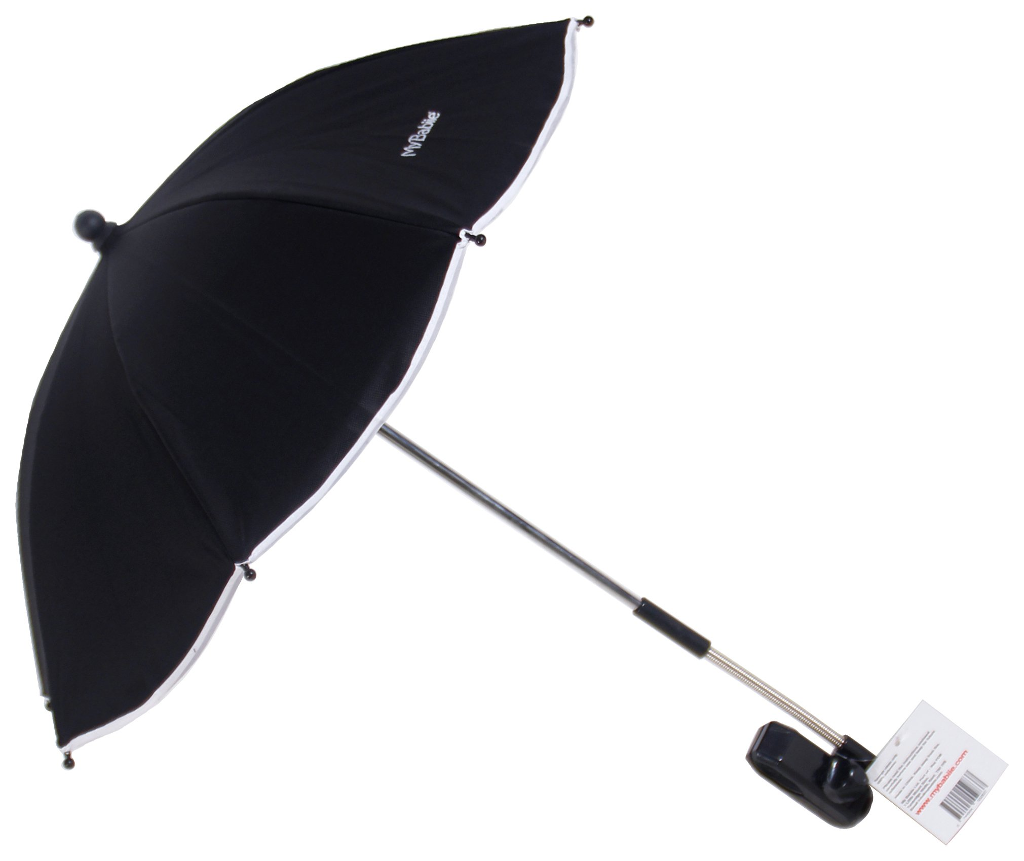 Image of My Babiie Parasol - Black