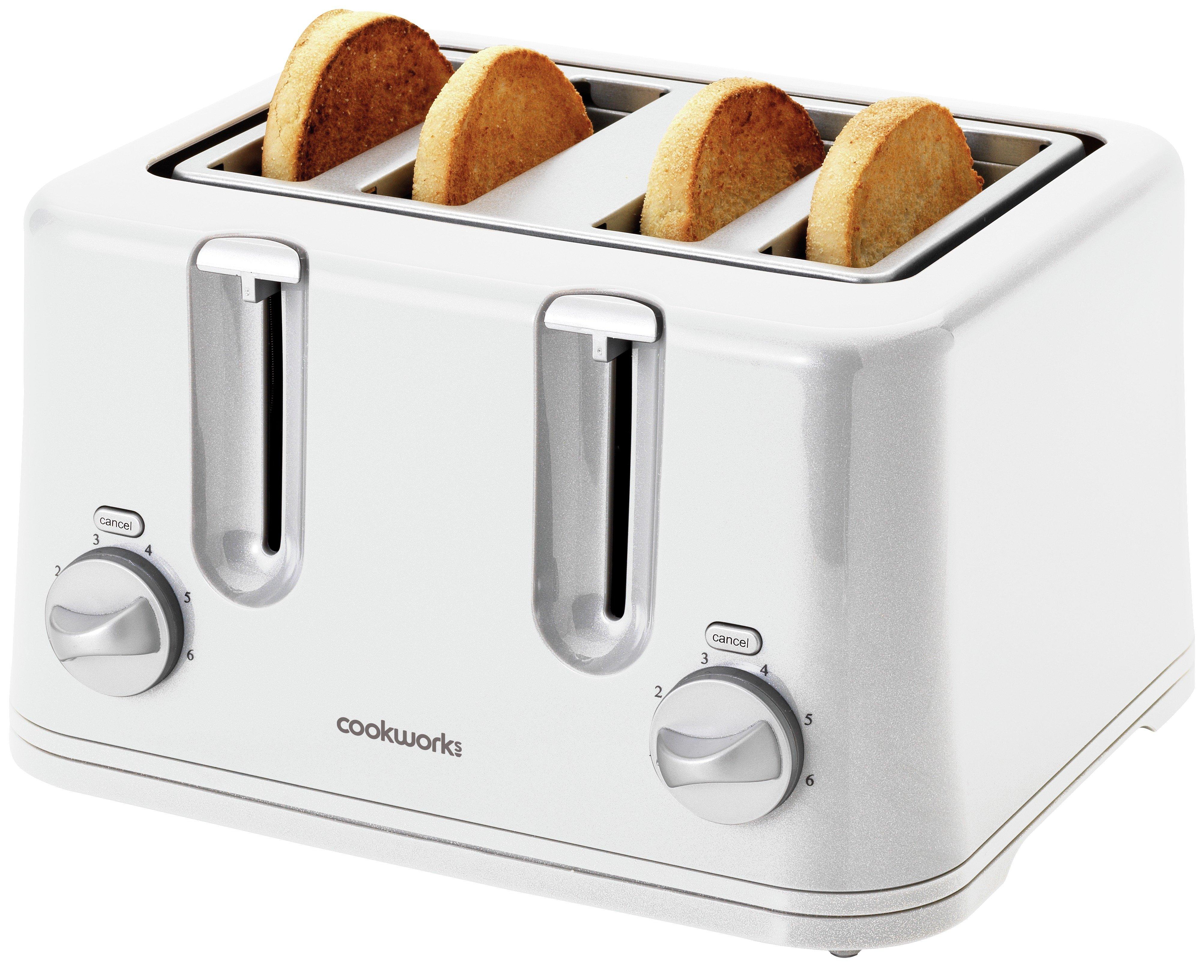 cookworks toaster find it for less. Black Bedroom Furniture Sets. Home Design Ideas