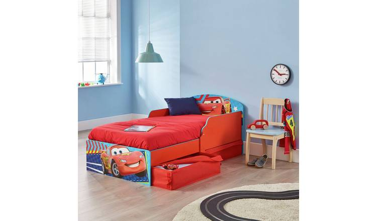Buy Disney Cars Toddler Bed With Drawers Kids Beds Argos